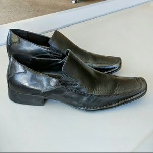 STEVE MADDEN Leather Biff SHOES